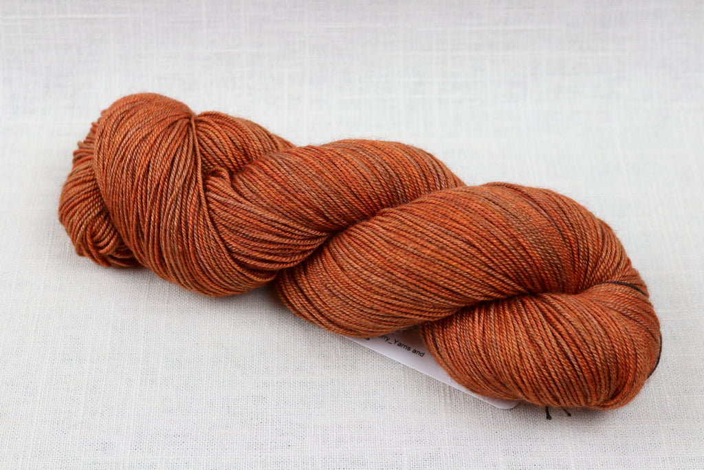 ryberry yarns merino/yak/silk pumpkin spice