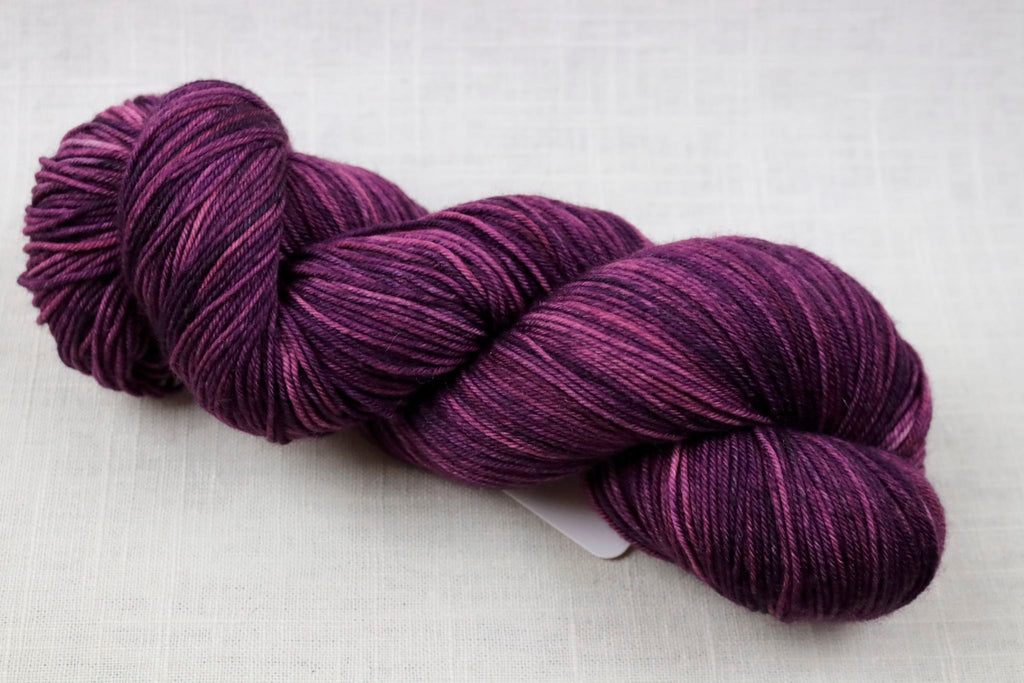 ryberry yarns signature merino fingering purple passion