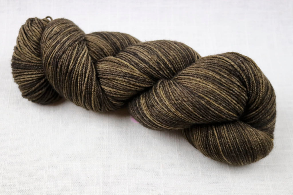 ryberry yarns signature merino fingering walnut