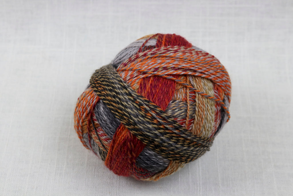 schoppel-wolle zauberball crazy wool nylon fingering self-striping 2092