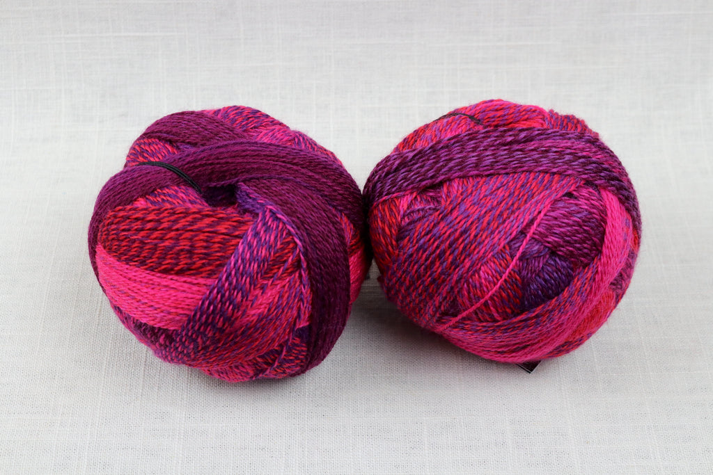 schoppel-wolle zauberball crazy wool nylon fingering self-striping 2095