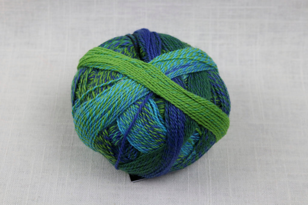 schoppel-wolle zauberball crazy wool nylon fingering self-striping 2136