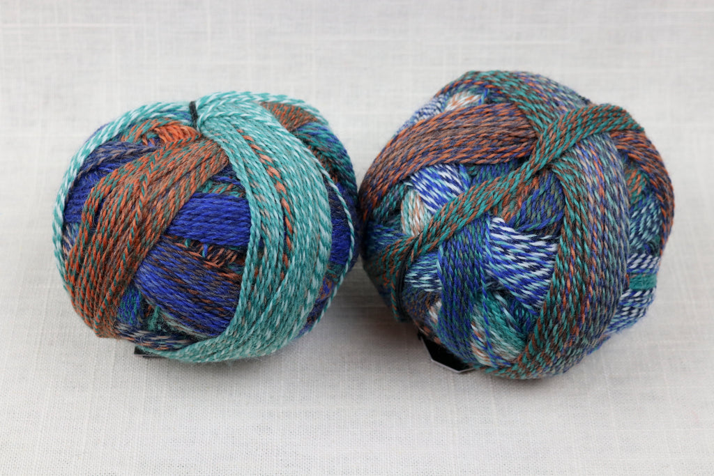 schoppel-wolle zauberball crazy wool nylon fingering self-striping 2395
