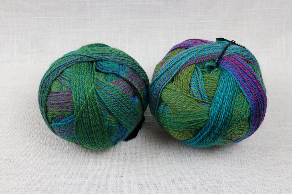 schoppel-wolle zauberball crazy wool nylon fingering self-striping 2404