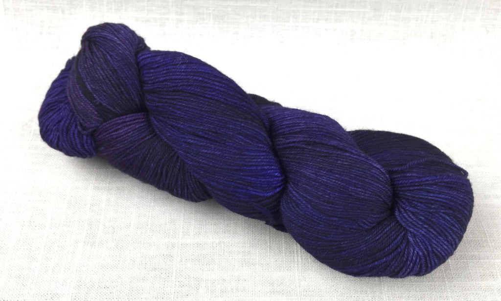 malabrigo sock SW141 dewberry