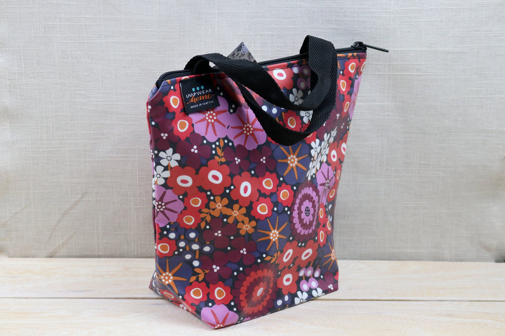 splash fabric zippered lunch sack juanita