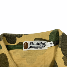 Load image into Gallery viewer, M Bape Yellow Camo Polo Shirt