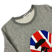 Load image into Gallery viewer, L Bape Union Jack Ape Head Crewneck