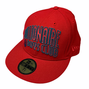 7 5/8 Billionaire Boys Club x New Era Red Fitted Hat