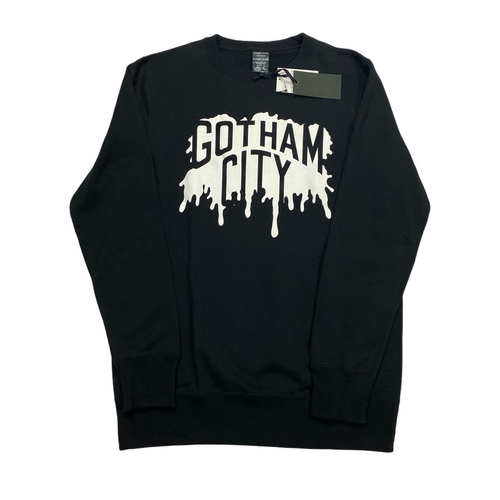 M Brand New Number Nine Gotham City Splatter Crew Sweater