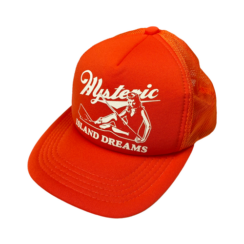 Hysteric Glamour Orange Island Dreams Trucker Hat