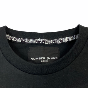 M Number Nine Denim NIN Logo Tee