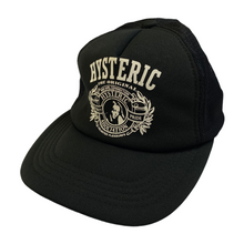 Load image into Gallery viewer, Hysteric Glamlour Black Unlimited Pleasures Trucker Hat