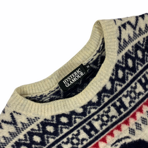 Womens M Hysteric Glamour Knit Top