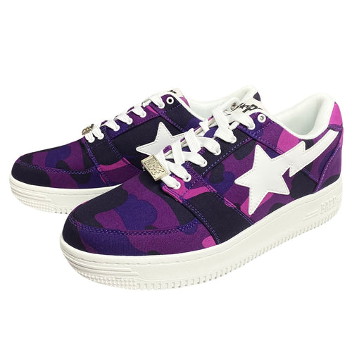 9.5 Brand New Purple Camo Canvas Sta With Box