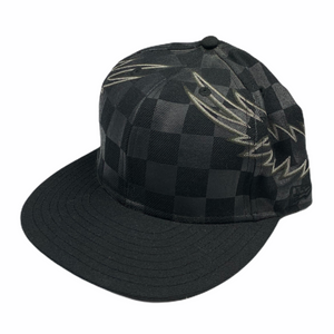 7 3/8 Number Nine x New Era Wings Checkered Fitted