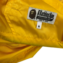 Load image into Gallery viewer, M Bape Yellow Nylon Cycling Jacket