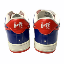Load image into Gallery viewer, 9.5 Bape Sta Red White Blue