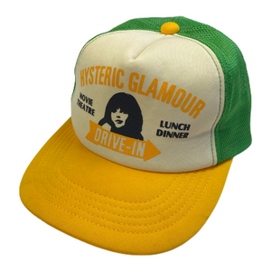 Hysteric Glamour Green Drive In Trucker Hat