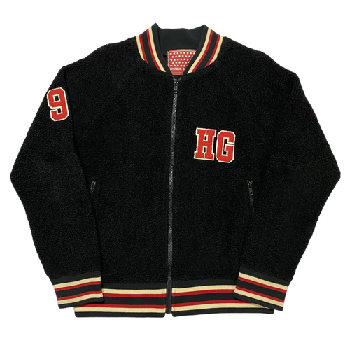 S Hysteric Glamour 1998 Black Fleece Jacket
