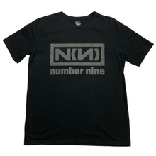 Load image into Gallery viewer, XL Number Nine Nine Inch Nails Blackout Tee