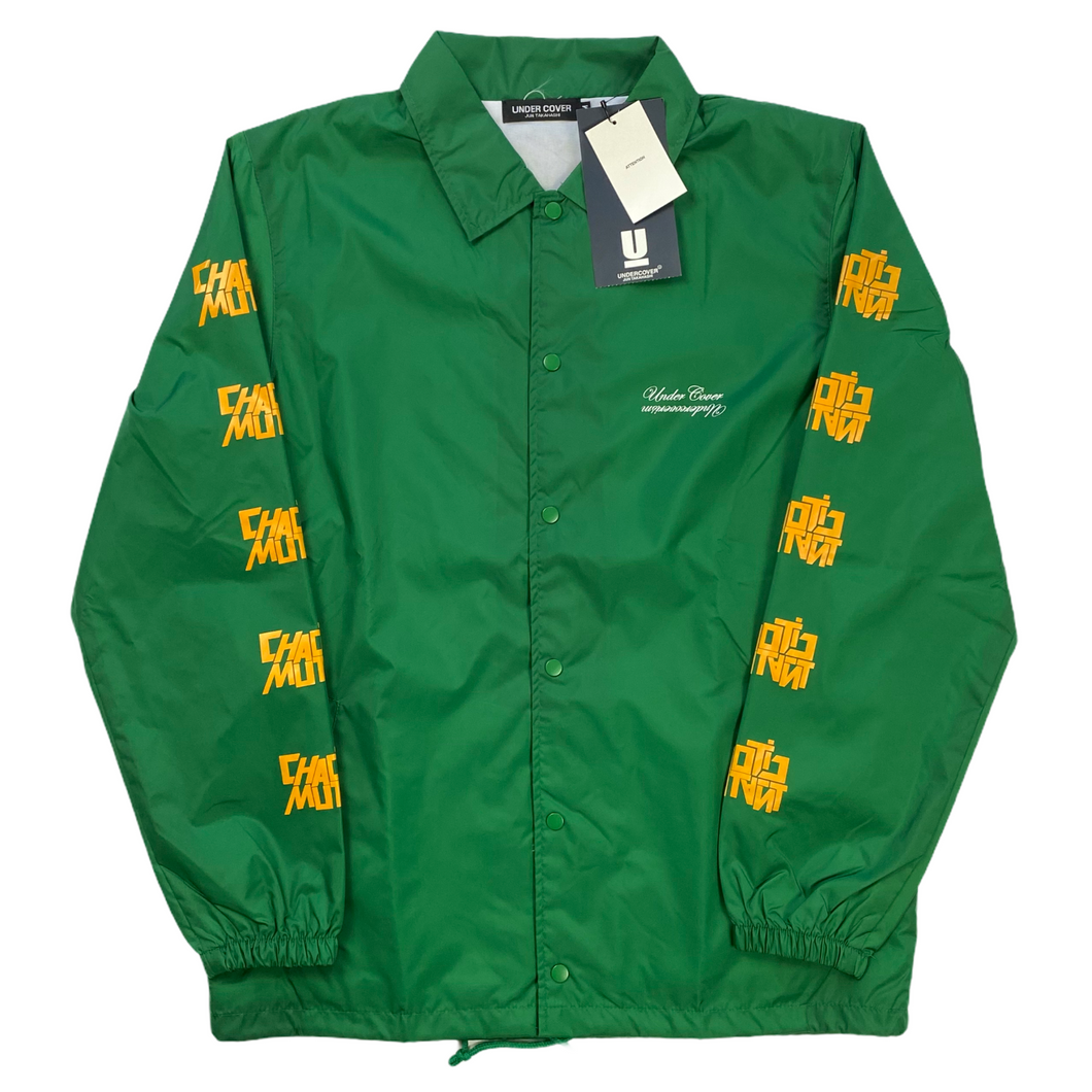 Brand New M Undercover Green Chaotic Mutant Coach Jacket