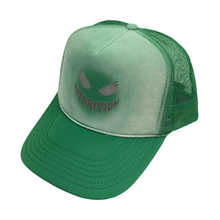 Load image into Gallery viewer, Apparition 3M Reflective DOOM Green Trucker Hat