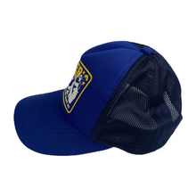 Load image into Gallery viewer, Hysteric Glamour Blue Built Trucker Hat