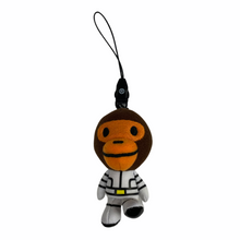 Load image into Gallery viewer, Bape Baby Milo Astronaut Keychain