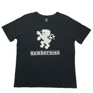 XL Number Nine Lion Emblem Logo Tee