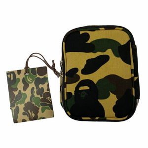 Brand New Bape Yellow Camo Pouch