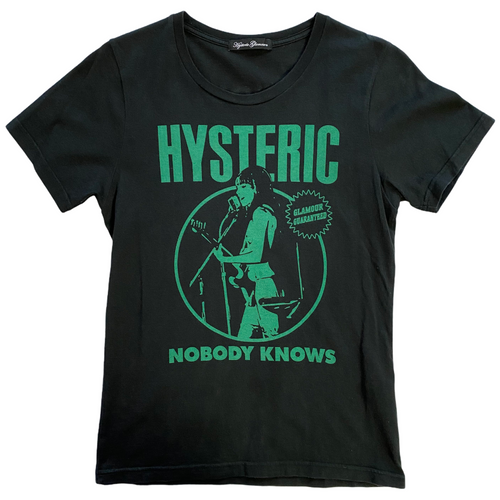 Women's S Hysteric Glamour Nobody Knows Tee