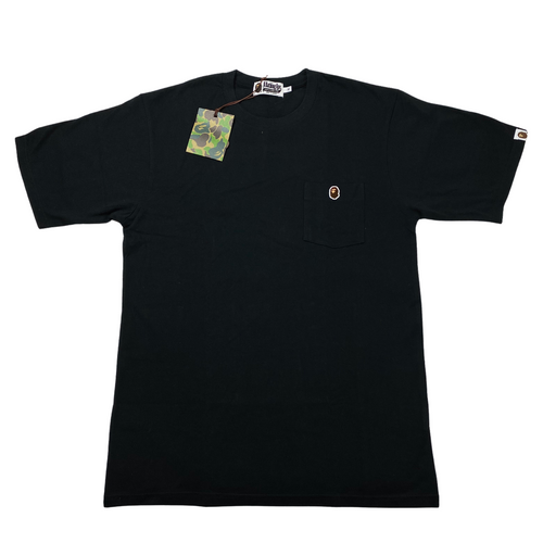 XL Brand New Bape One Point Pocket Tee