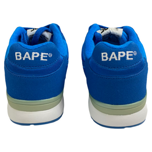 10 Brand New Bape Blue Track Sta With Box