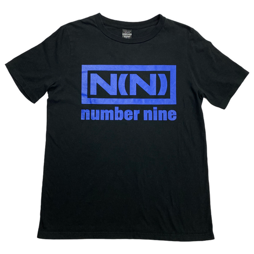M Number Nine Blue Nine Inch Nails Tee
