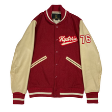 Load image into Gallery viewer, M 2000s Hysteric Glamour 76 Varsity Jacket