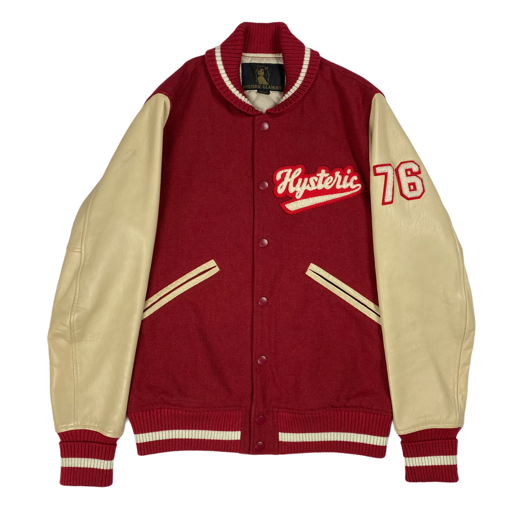 M 2000s Hysteric Glamour 76 Varsity Jacket