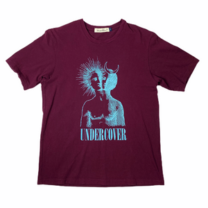 M Undercover Burgundy Duality Tee