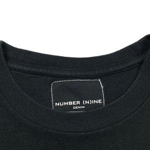 L Number Nine Denim Logo Tee