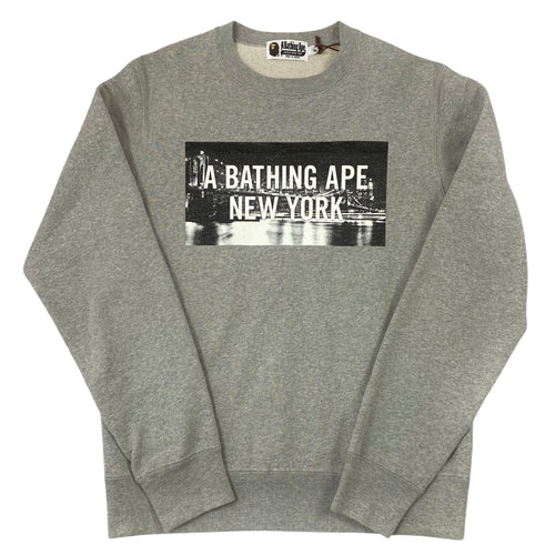 Brand New M Bape New York 10th Anniversary Crewneck