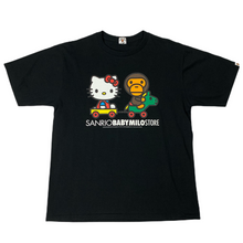 Load image into Gallery viewer, L Bape X Sanrio Hello Kitty Tee