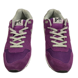 10 Bape 3M Purple Suede Five Sta LT