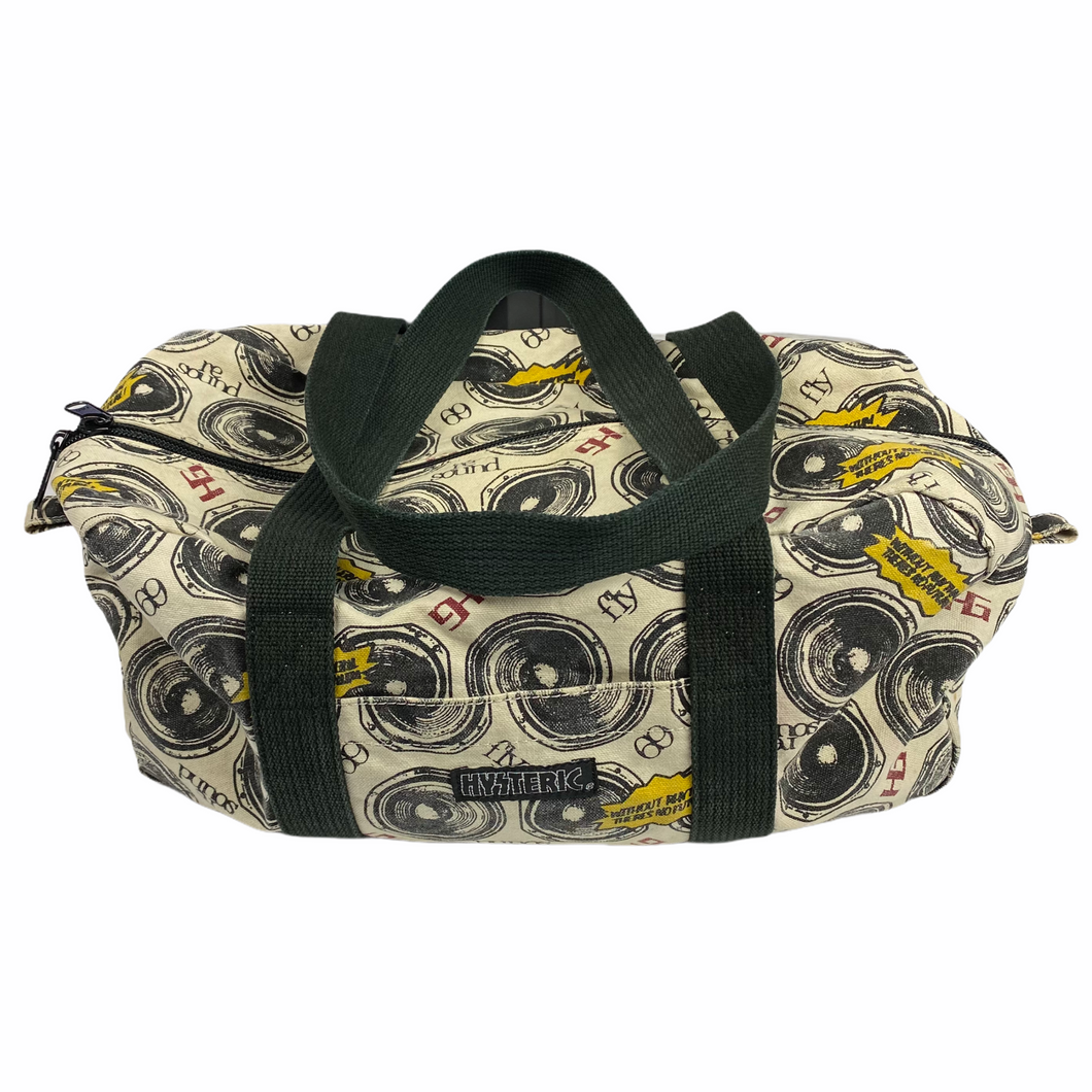Hysteric Glamour Sound System Gym Bag