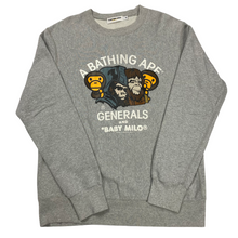 Load image into Gallery viewer, M Bape 2009 Baby Milo Generals Crewneck