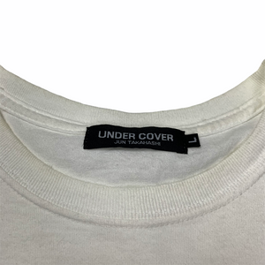 L Undercover Nirvana White Tee