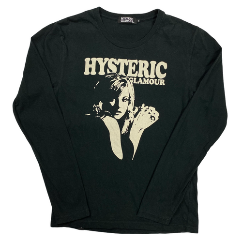 S Hysteric Glamour Detroit Rock Long Sleeve