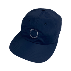 Number Nine Navy Circle Logo Hat