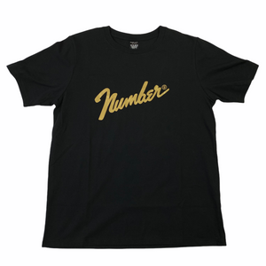 XL Number Nine Gold Foil Logo Tee