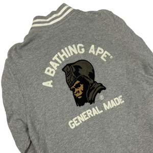 L Bape General Made Varsity Jacket