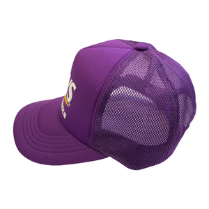 Hysteric Glamour Purple HYS Girl Trucker Hat